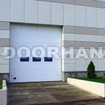 Промышленные автоматические подъемно - секционные ворота DoorHan