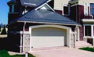 Секционные ворота для монтажа в личных гаражах серии RSD01