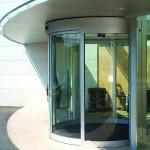 Автоматическая дверь, револьверная дверь Besam (Швеция)