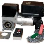 Ремонт и замена двигателя на секционных воротах